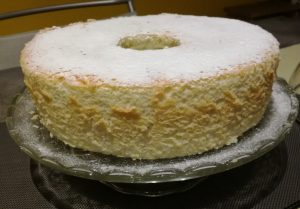 ANGEL  CAKE o TORTA DEGLI ANGELI
